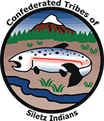 Confederated tribes osiletz Indians logo